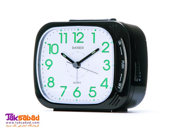 908 DANIEH TABLE CLOCK-BLACK