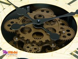 ساعت دیواری طرح چرخ دنده