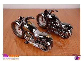 قیمت ساعت رومیزی طرح موتور سیکلت
