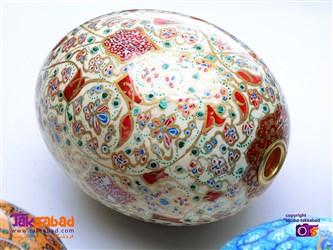 نقاشی روی تخم شتر مرغ