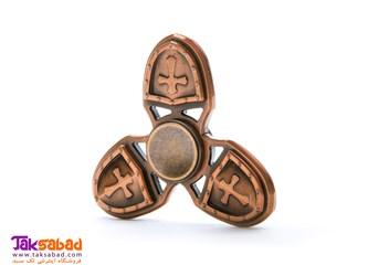 فیجت اسپینر فلزی سه پره صلیب