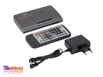 گیرنده دیجیتال تلویزیون  DVB-T2 TV Box VGA-AV-HDMI