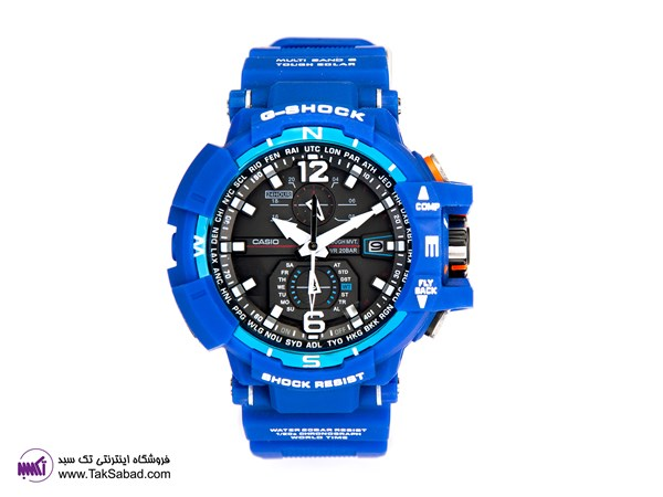 G-SHOCK BLUE GW-A1100 WATCH