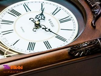 ساعت دیواری پاندول دار چوبی