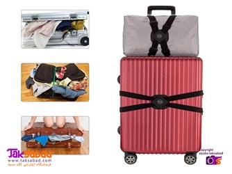 بند نگهدارنده کیف روی چمدان
