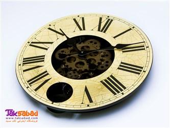 ساعت دیواری جدید چرخ دنده ای