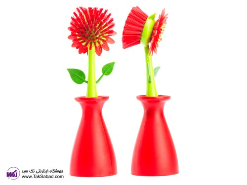 FLOWER POWER POT BRUSH