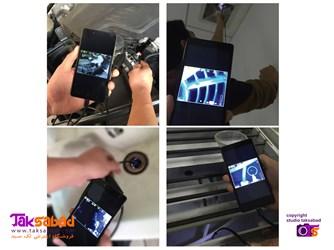 آندوسکوپ قابل اتصال به موبایل و کامپیوتر