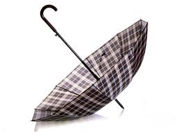 چتر طرح چهارخانه