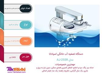 اینفوگرافی دستگاه تصفیه آب اسپادانا AJ-225R