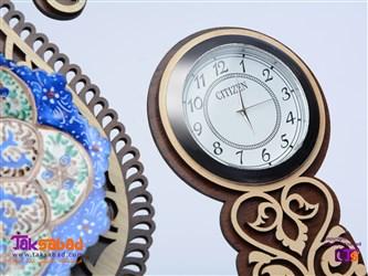 تندیس رومیزی ساعت دار