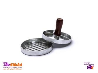 همبرگرساز دستی فلزی Burger Press