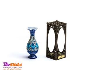 گلدان میناکاری اصفهان
