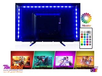 نورپردازی پشت تلویزیون
