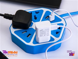 رابط برق و شارژر 6 ضلعی