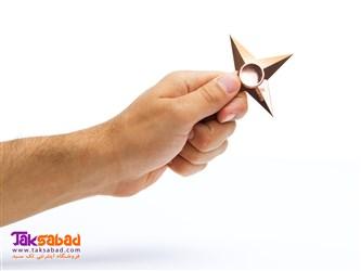 فیجت اسپینر فلزی ستاره نینجا
