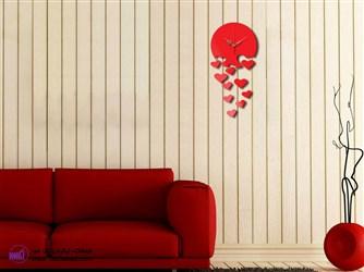 ساعت دیواری طرح عشق