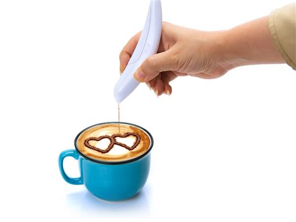 قلم تزیین قهوه