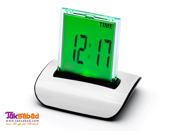 PUSH PANEL COLOR CHANGING LCD CLOCK