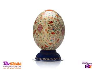 تخم شتر مرغ طرح اسلیمی