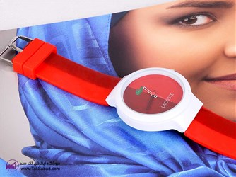 ساعت مچی زنانه قرمز