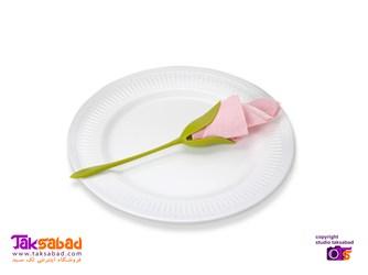 نگهدارنده دستمال سفره گل رز