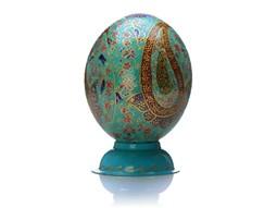 تخم شترمرغ تزیینی
