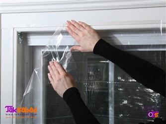 عایق پنجره پلاستیکی
