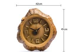 ساعت دیواری تنه درختی