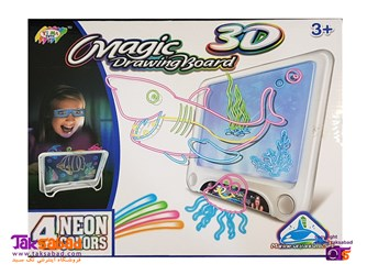 برد نقاشی سه بعدی ارزان