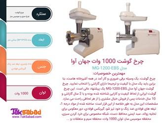 اینفوگرافی چرخ گوشت افرا 1200