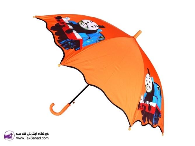 چتر بچه گانه رنگ نارنجی