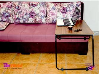 میز تاشو کنار مبل