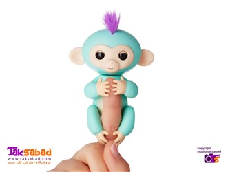 ربات بچه میمون بند انگشتی