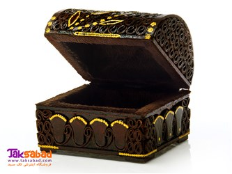 جعبه جواهر چوبی