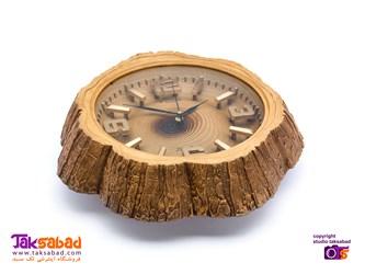 ساعت دیواری تنه درخت