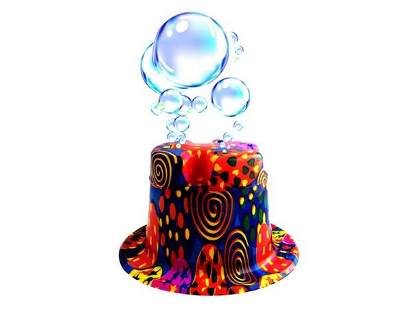 کلاه حباب ساز