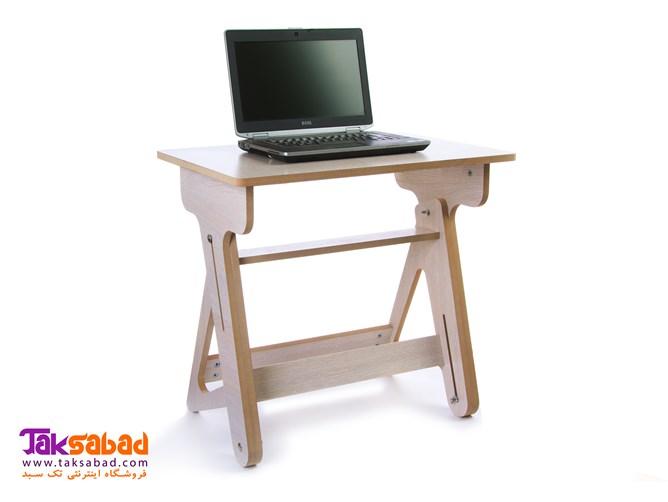 میز لپ تاپ چوبی