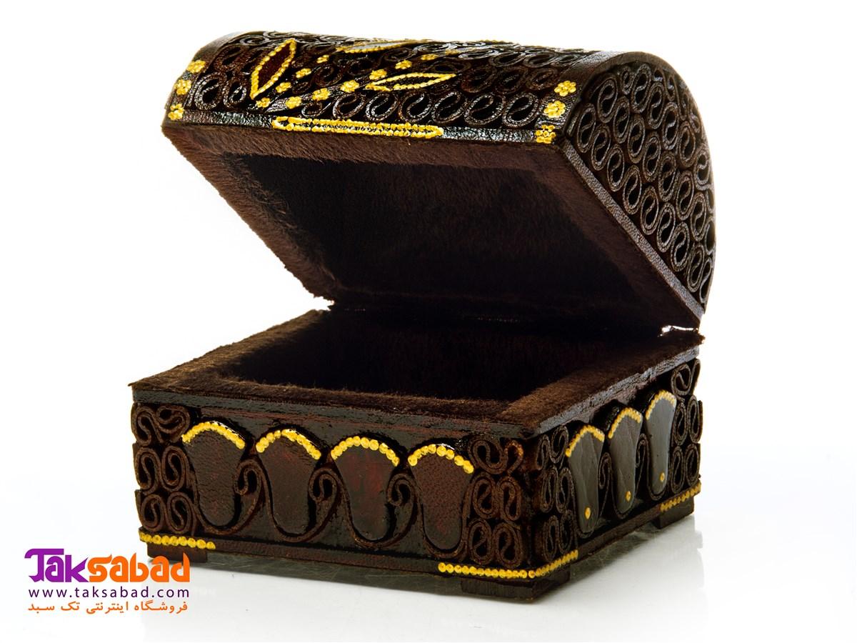 جعبه جواهرات با چوب