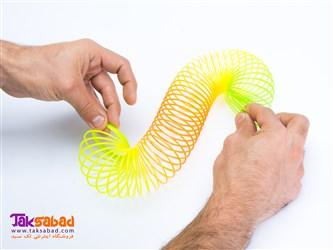 اسباب بازی فنر پلاستیکی اسلینکی