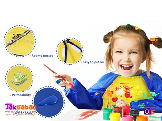 الگوی پیشبند نقاشی کودکان