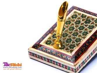 جا قلمی خاتم کاری اصفهان