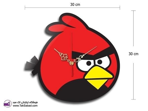 ساعت دیواری angry birds
