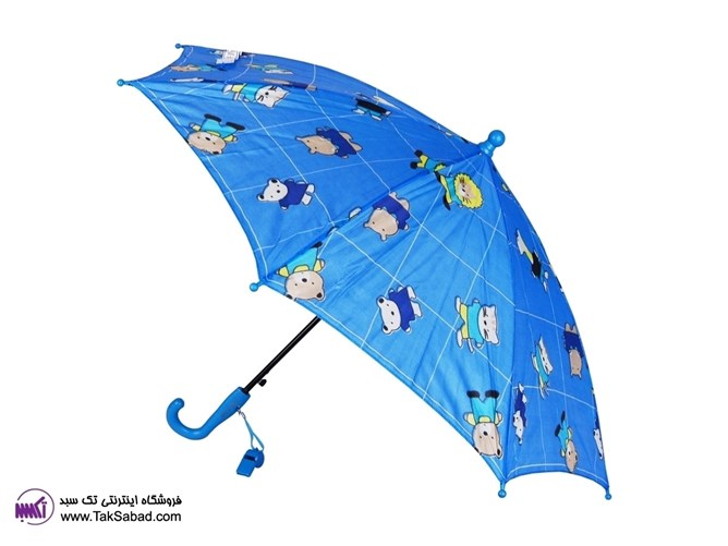 چتر آبی رنگ فایو استار