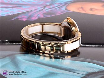 ساعت دسته فلزی و سرامیکی اسپیریت