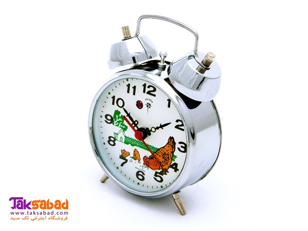 POLARIS ALARM TABLE CLOCK-CHICKEN