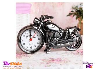 ساعت رومیزی مدل موتور سیکلت