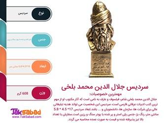 اینفوگرافی سردیس جلال الدین محمد بلخی