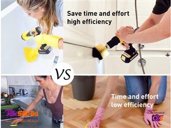 فرچه نظافت سر دریلی ارزان
