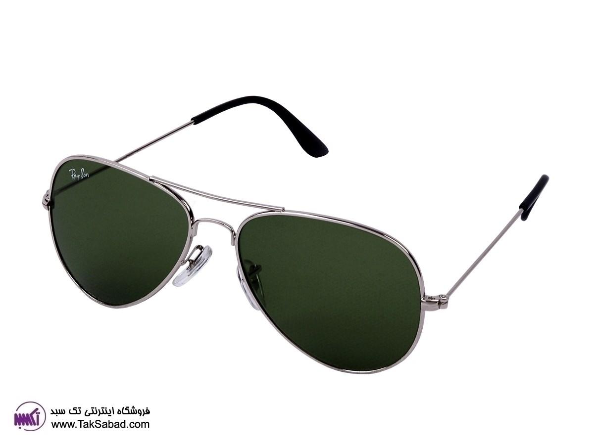 عینک آفتابی ریبن نقره ای